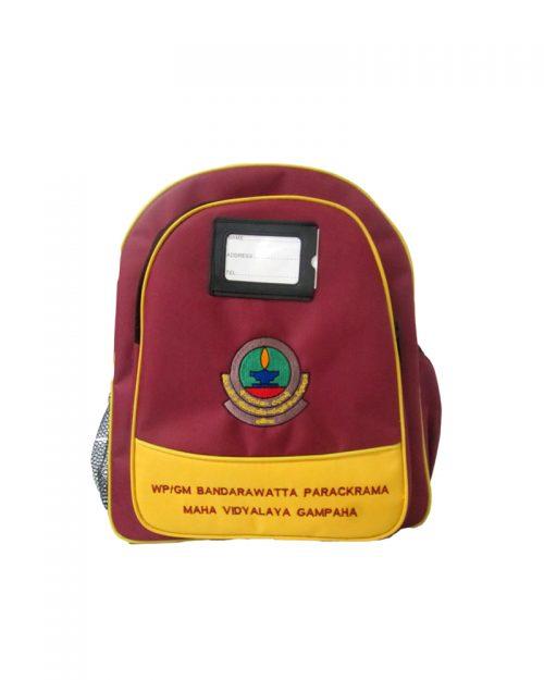 Bandarawatta Parakcrama Maha Vidyala - Gampaha ( School Back Packs )