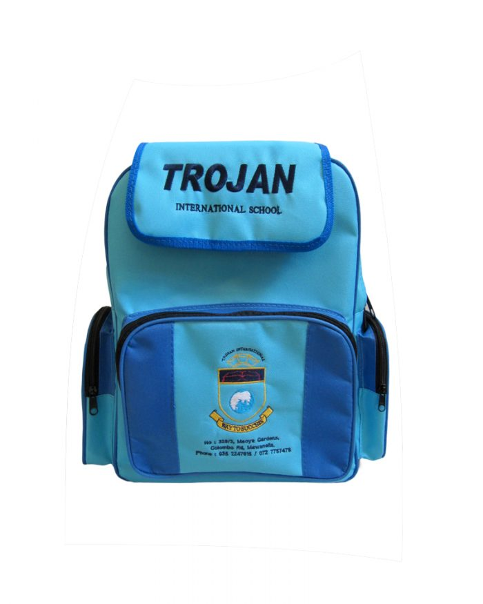 Trojan International School- ( School Back Packs )