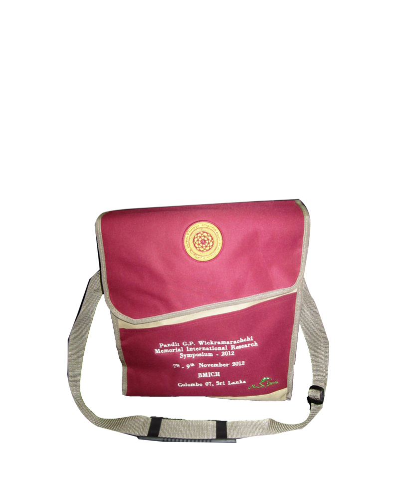 Kelaniya Wickramarachchi Memorial International Research Symposium ( Side Bag )