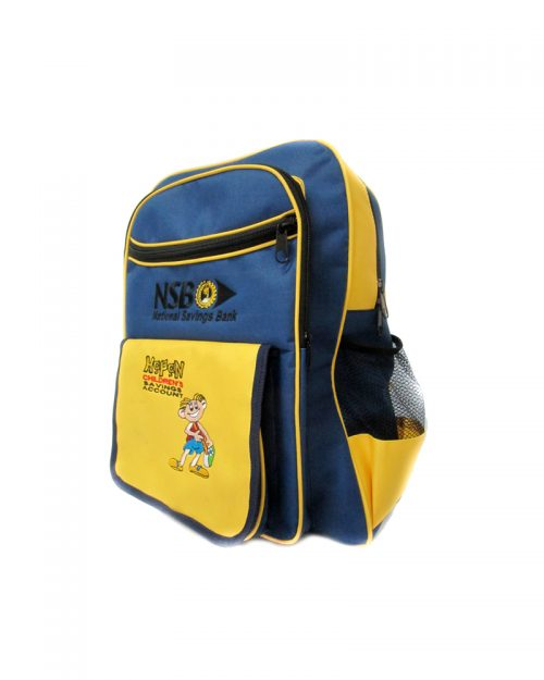 National Savings Bank ( School Back Packs )