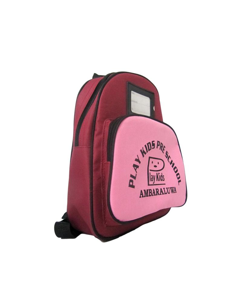 Play Kids School - Ambaraluwa ( Kids School Bag )