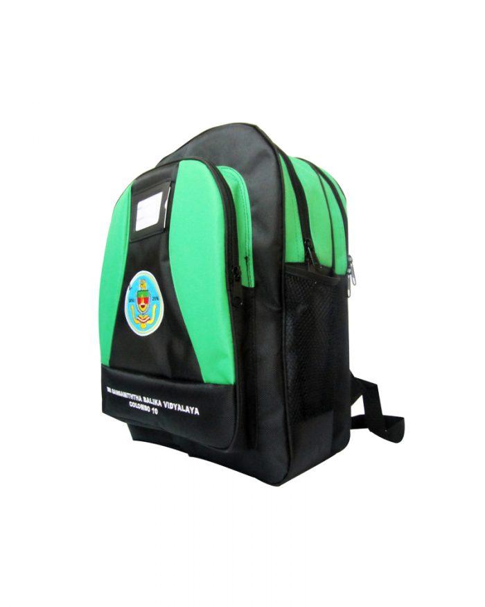 Sri Sangamiththa Balika Vidyalaya - Colombo 10 2 - ( L )-( school Back Packs )