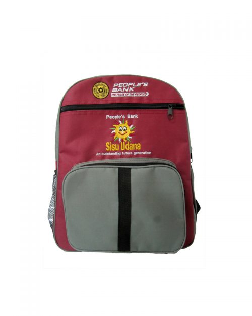 People's Bank - Sisu Udana - ( School Back Packs )