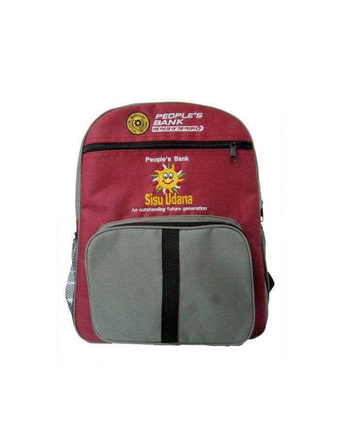 People's Bank - Sisu Udana - ( School Back Packs )