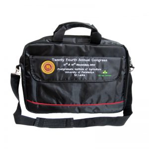 University of Peradeniya - ( Laptop and Conference Bag )