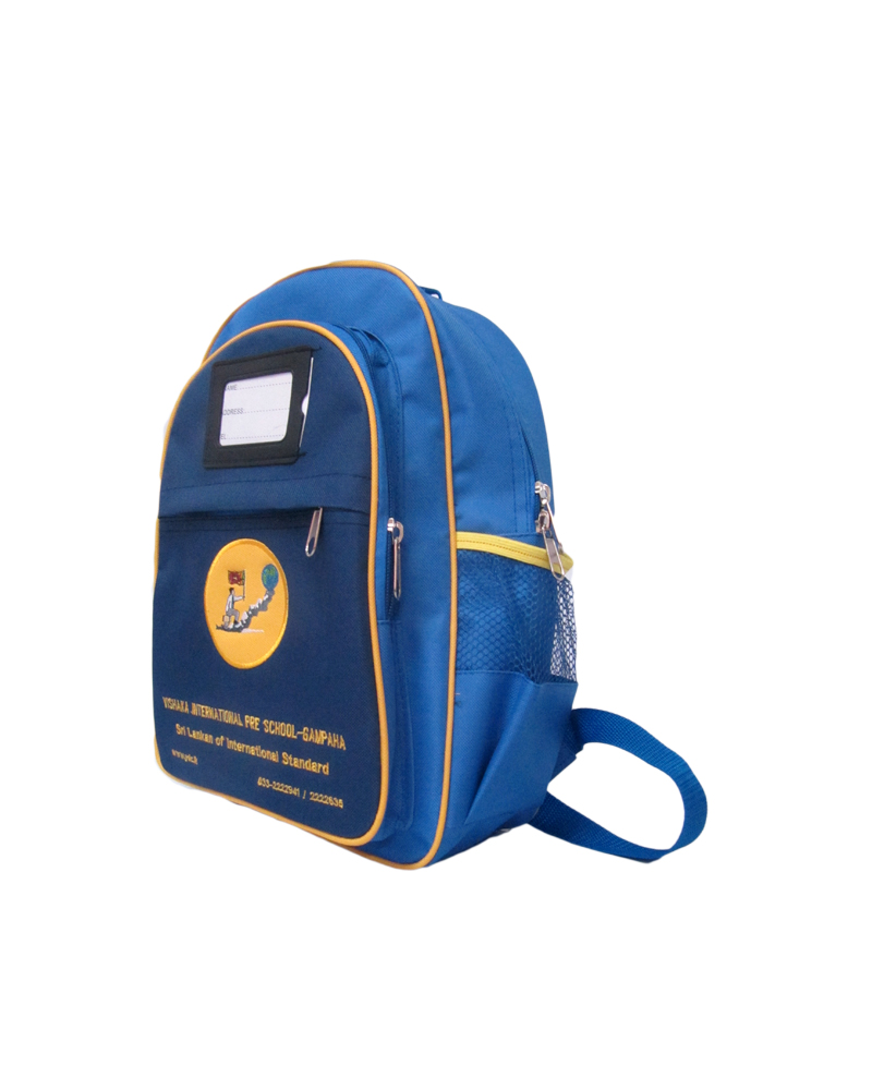 Vishaka International Pre School ( Small )- ( Kids School Bags )