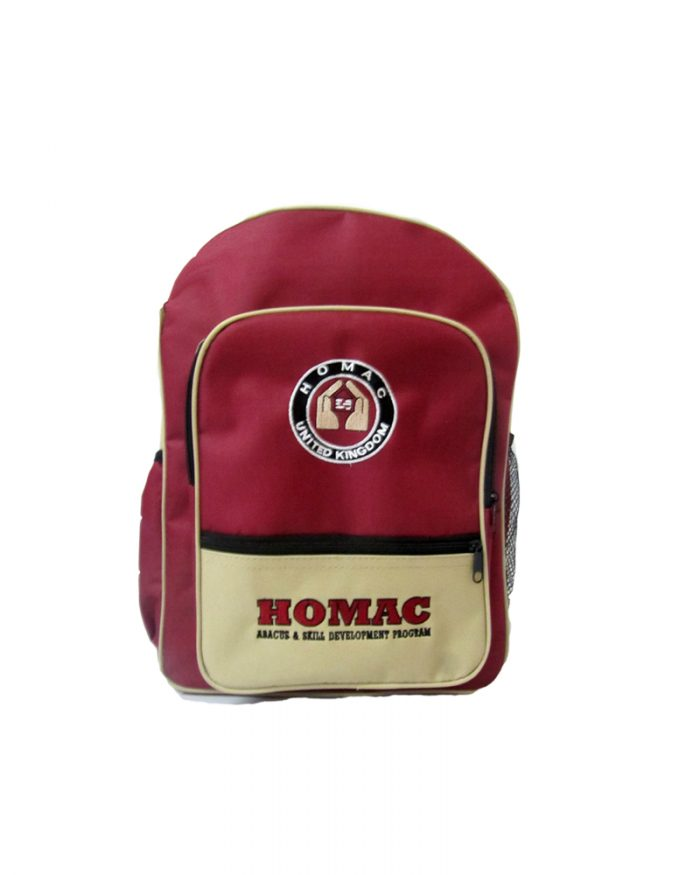 Homac - ( School Back Pack )